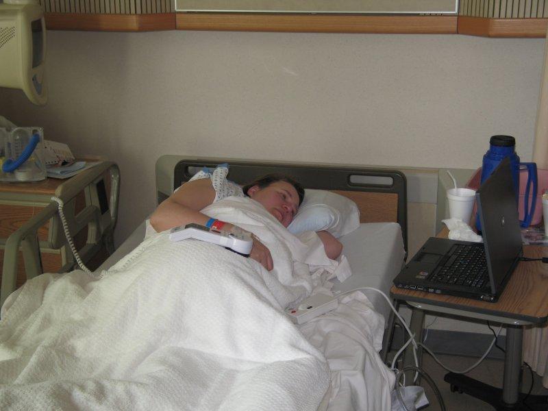 Lea at Hospital